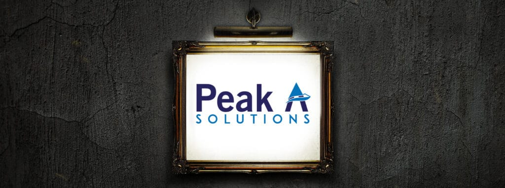 Peak A Solutions Banner